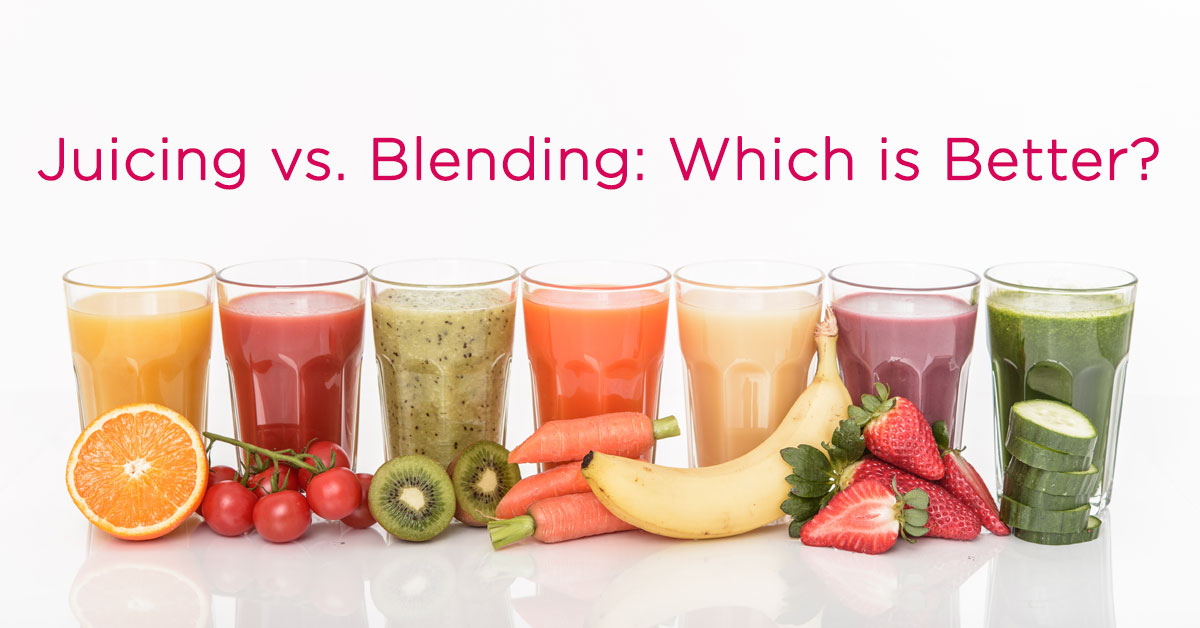Slow Juicing Vs Blending : Juicing vs Blending Dr. Sears Wellness Institute