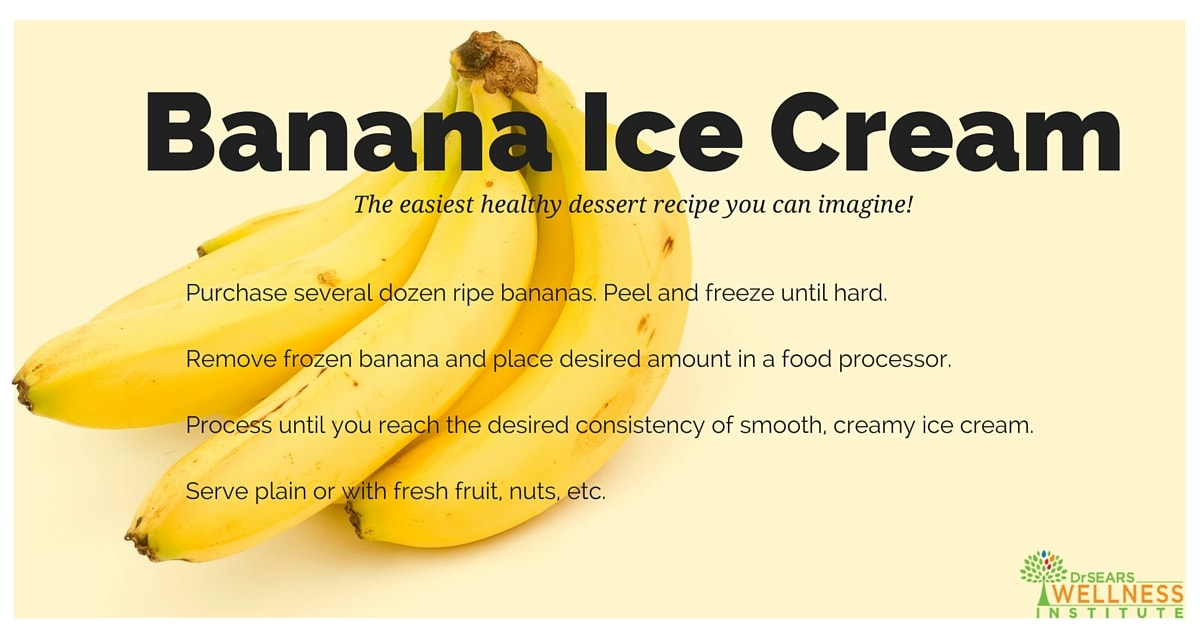 healthy banana ice cream recipe