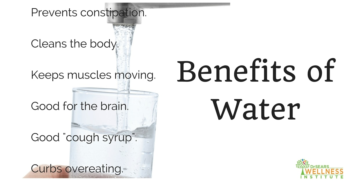 benefits of water
