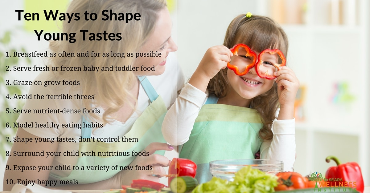 how to shape young tastes