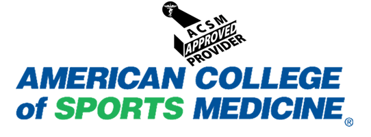 ACSM American College of Sports Medicine