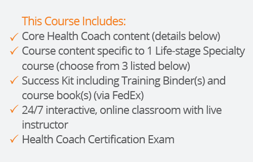 success kit for health coach certification with one lifestage