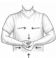 isometrics fist palm press exercise