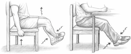 leg raise isometric exercise